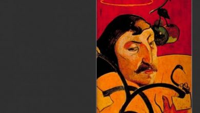 Paul Gauguin Self Portrait With Halo